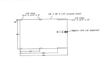 Instructions for building the TAPCO BigHorn Table